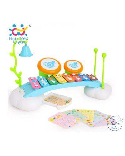 Игрушка Ксилофон-радуга - Hola Toys