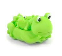 Игрушка для ванной ZT8891 Уточка, пищалка Лягушки