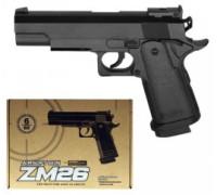 Пистолет CYMA ZM26 с пульками Метал