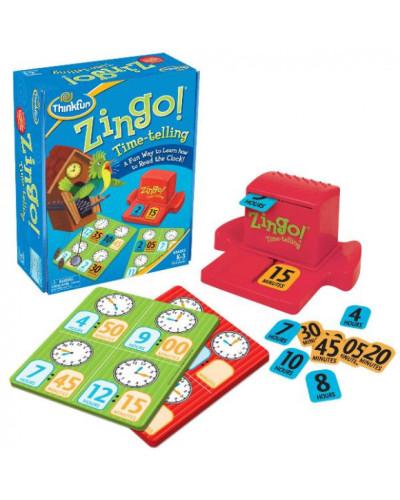 Игра Зинго Время | Zingo Time-Telling