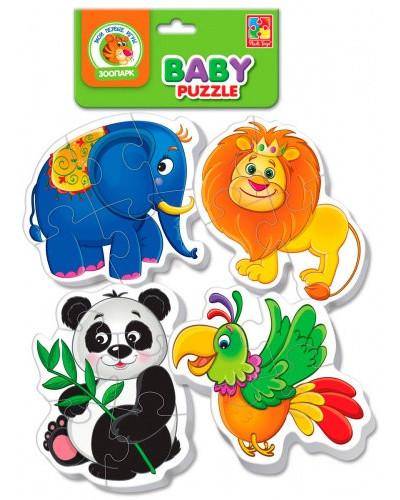 "Беби пазлы ""Зоопарк"""