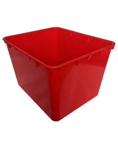 Контейнер пластиковый открытый Gigo красный (1138R)