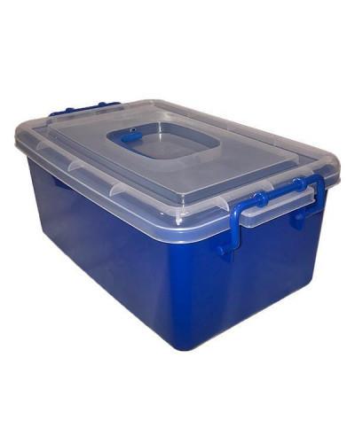 Контейнер пластиковый большой Gigo синий (1140BB)