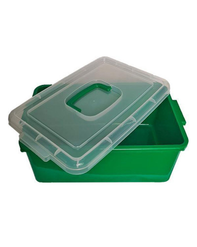Контейнер пластиковый большой Gigo зеленый (1140GG)