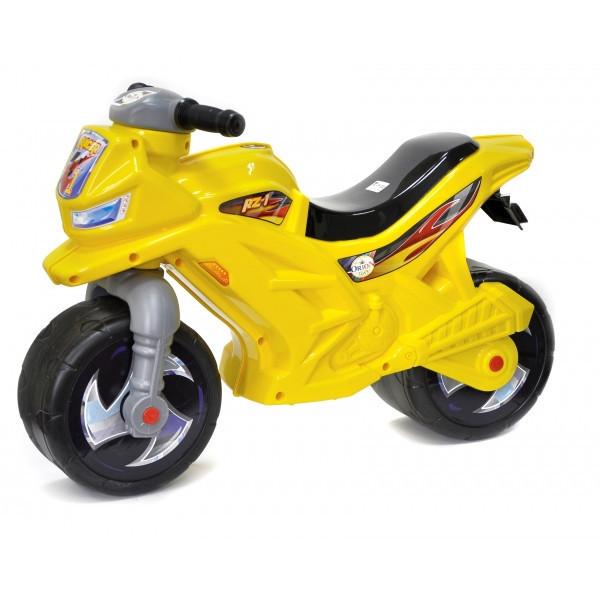 Мотоцикл 2-х колесный 501-1B Синий Желтый