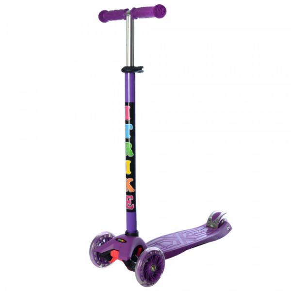 Самокат JR 3-003-B Фиолетовый
