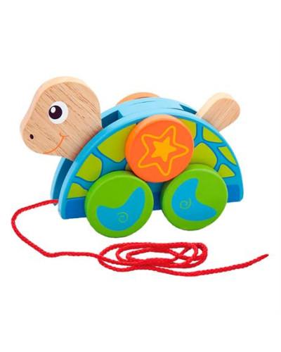 """Игрушка-каталка """"Черепаха"""" - Viga Toys"""