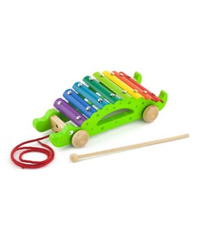 "Игрушка-каталка ""Крокодил"" - Viga Toys"