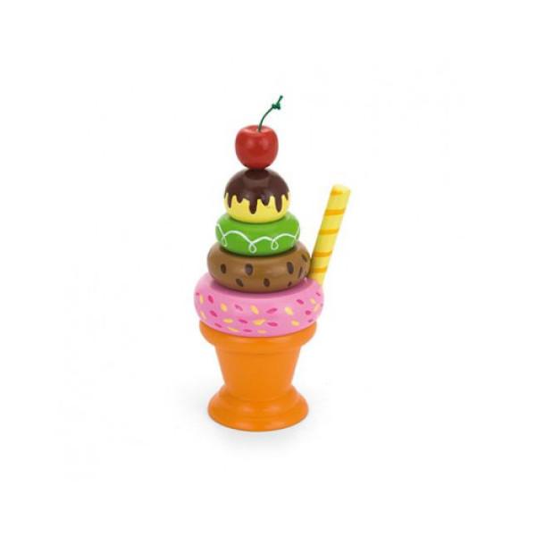 """Игровой набор """"Мороженное с фруктами. Вишенка"""" - Viga Toys"""