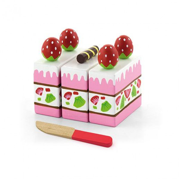 """Игровой набор """"Клубничный торт"""" - Viga Toys"""