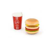 """Игровой набор """"Гамбургер и кола"""" - Viga Toys"""