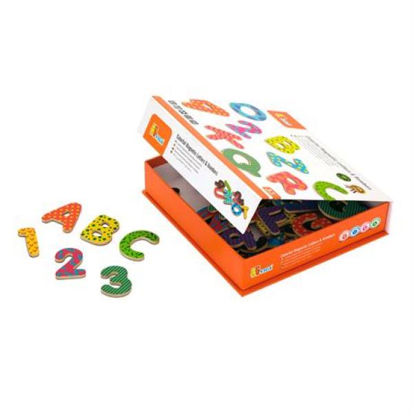 """Набор магнитных букв и цифр """"Буквы и цифры"""" - Viga Toys"""