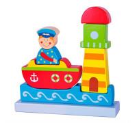 """Магнитный пазл """"Море"""" - Viga Toys"""