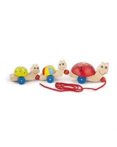 """Игрушка-каталка """"Черепашки"""" - Viga Toys"""